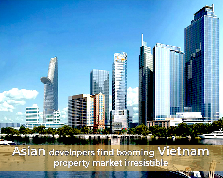 booming Vietnam real estate market