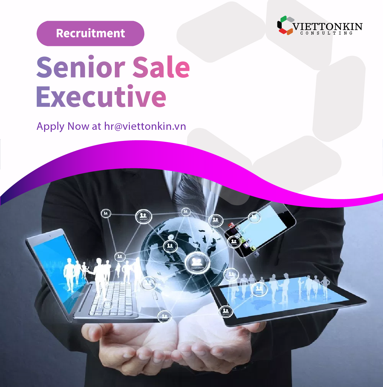 SENIOR SALES EXECUTIVE IN INDONESIA