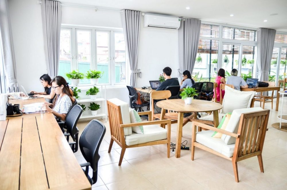 moonwork coworking space in Hanoi