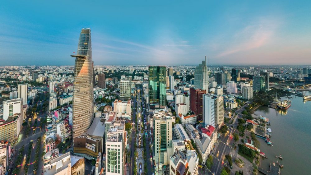 vietnam city landscape for IT investment
