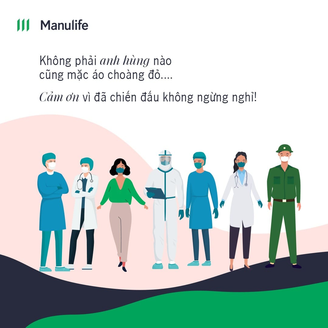 Manulife thanks to doctors (insurance industry)