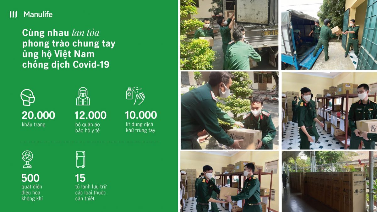 Manulife donates (Insurance industry)