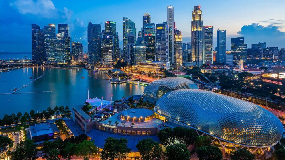 Singapore's economy growth