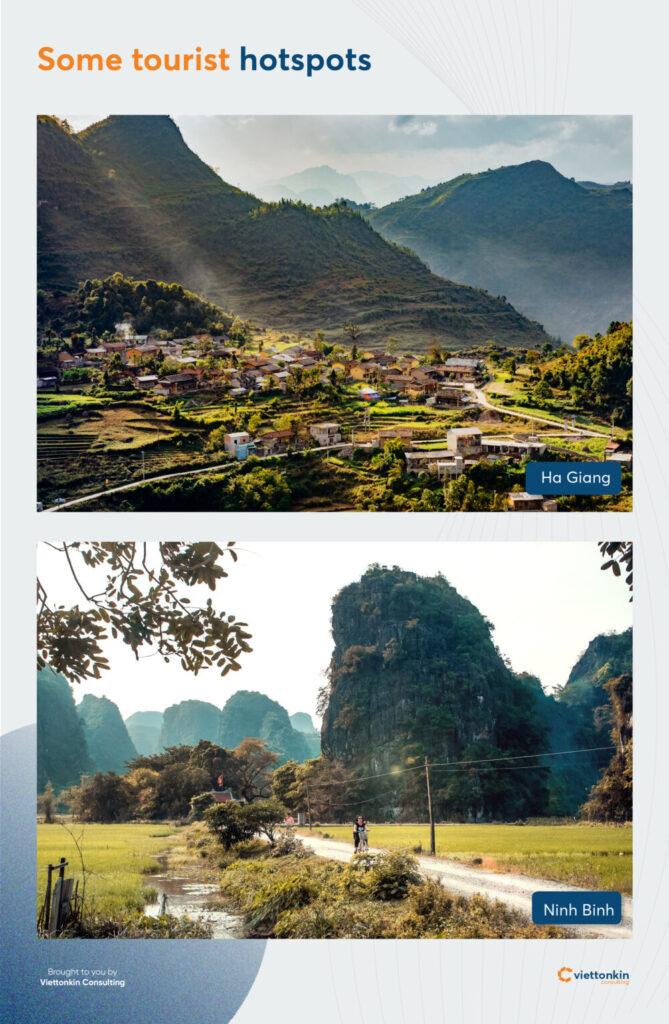 Vietnam tourist hotspot