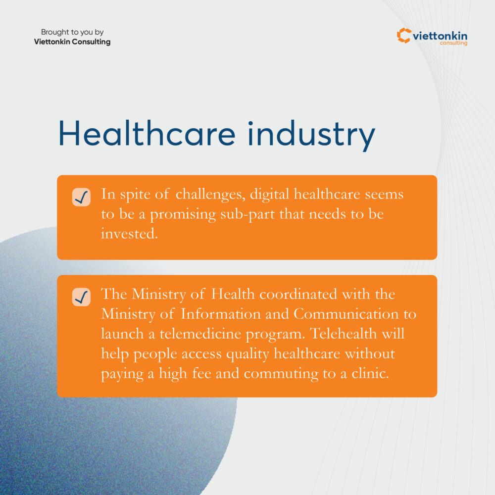 The business opportunities in Vietnam for foreigners  in Healthcare industry