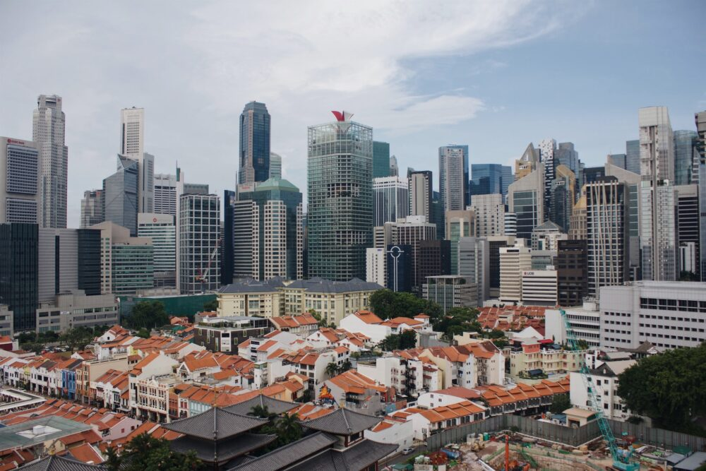 Singapore serves as the financial hub in ASEAN